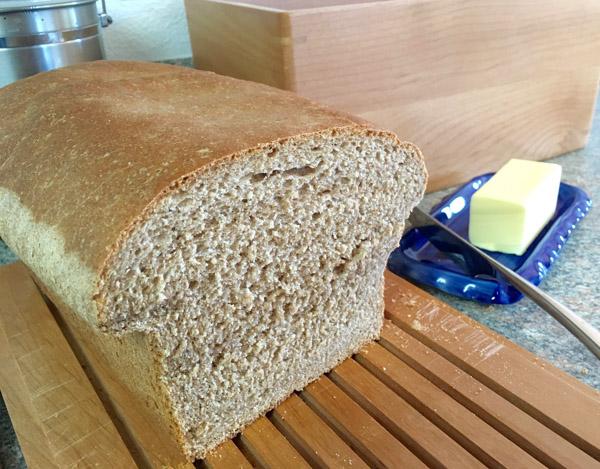 Heavenly Whole-Wheat Bread