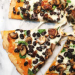 Sweet Potato Black Bean Pizza