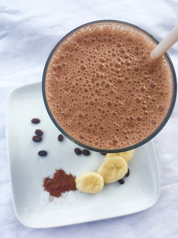 Healthy Blended Mochaccino