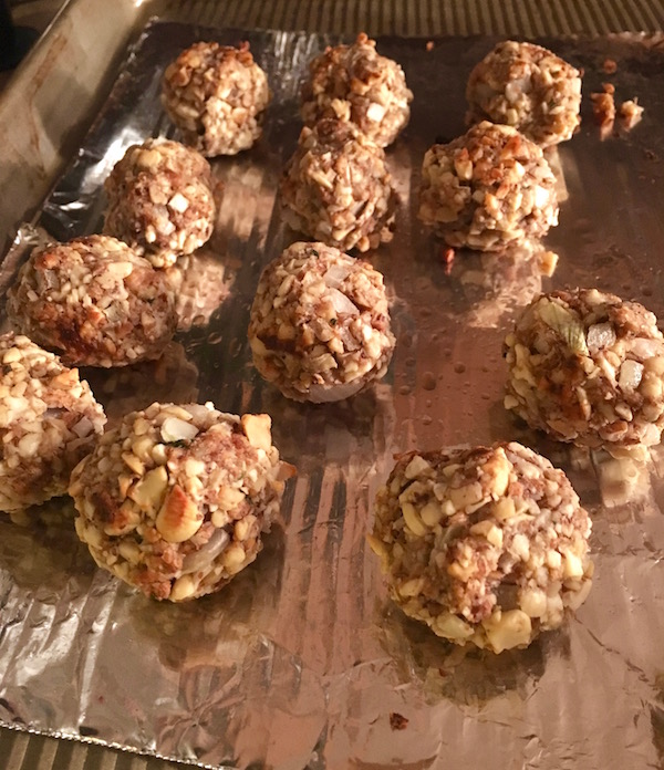Holiday Nut Balls