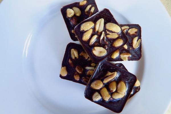 Chocolate Peanut Protein Bites
