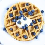Whole Wheat Protein Waffles